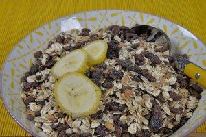 Flocken-Schoko-Müsli mit Cranberrys, 500 g - ausverkauft