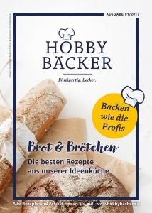 """Rezeptheft """"Brot- und Brötchen"""" Ausgabe 01/17"""