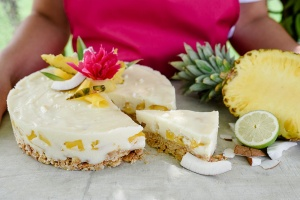 Ausgewählte Zutaten für Karibische Limettentorte