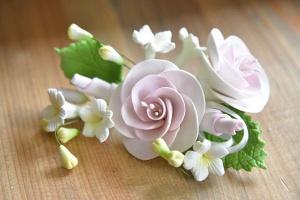 Zucker-Rosen rosa, 14 cm