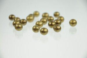 Schoko-Perlen -antikgold- Zartbitter  50 g