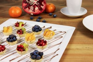 Tartelettes Mini-Dessert, süß Ø 3,8 cm, 54 Stück