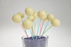 CakePopstiele / Lutscherstiele, bunt, 60 Stück, ca. 15 cm,