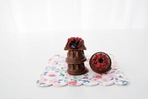 Gießform für Schokolade, Mini-Gugelhupf