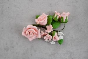 Zucker-Rosen rosa, 14,5 cm