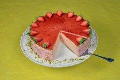 Backset: Erdbeersahne - Torte