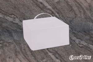 Tortenbox faltbar matt 26x26x15 cm