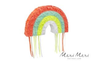 Meri Meri Pinata Regenbogen, mit Fransen, 25,4x40,6x7,6 cm