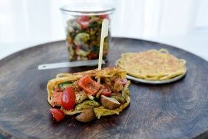 Streichring für Biskuit-Omelettes, Ø 12 cm, aus Edelstahl