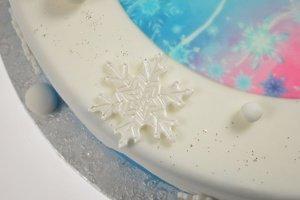 Ausstecher- und Präge-Set Eiskristalle, 6-teilig