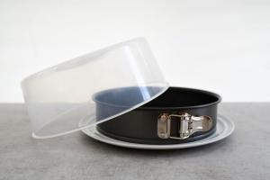 Springform Ø 26 cm mit Porzellan-Tortenplatte Ø 32 cm
