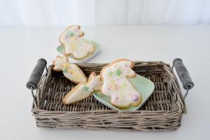 Backset für Kinder: Ostergebäck Hase Karotte, süß