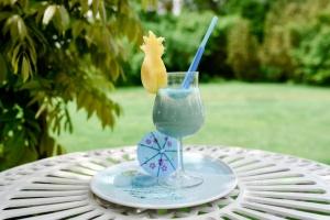 Kokos-Dekorstreu blau 100 g