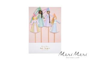 Meri Meri Cake Topper Prinzessin, 4 Stk., 25,4 cm