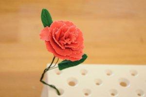 Ausstecher-Set Blume - Nelke, 3-teilig aus Kunststoff