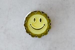 Linzer Ausstecher lachend mit Auswerfer, Ø 36 mm
