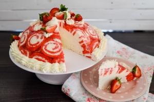 Ausgewählte Zutaten für Erdbeer Charlotte