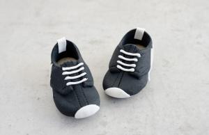 Fußball-Schuhe aus Marzipan, schwarz, 1 Paar
