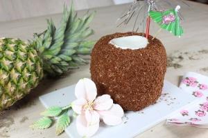 Kokos-Dekorstreu braun 100 g