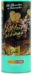 Glitzer Schnee, gold, 100 g