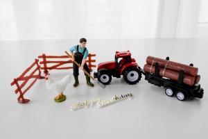 Motivtorte Bauernhof Tortendekoration Set