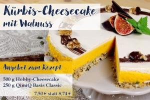 500g Hobby-Cheesecake + 250g QimiQ Basis Classic - Angebot