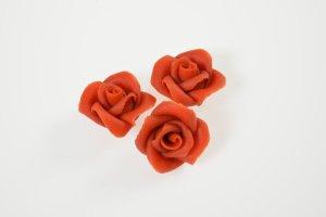 Marzipanrosen rot 16 Stück Ø 3,5 cm