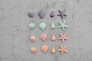 Meer-Set aus Marzipan 4 Motive sortiert, 16 Stück