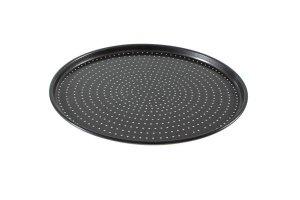 Pizzablech Knusperback, Ø 32 cm Außenmaß, AH-Karbonstahl