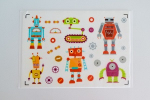 Kuchen Tattoo Roboter