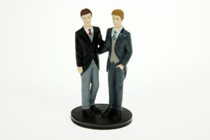 Brautpaar -Männer-, 20 cm