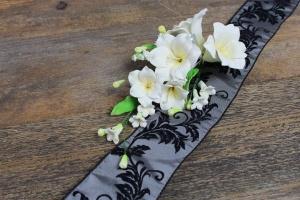 Zucker-Lilien creme/gelb, 20 cm