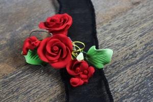 Zucker-Rose rot, 12 cm