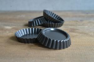 Tortelett-Set Ø 10 cm antihaftbeschichtet, 6 Stück