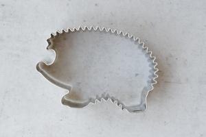 Ausstecher Igel, Edelstahl, 4,5 cm