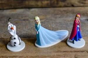 Frozen-Figuren für Thementorten