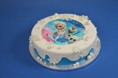 Frozen - die Eiskönigin, Zucker-Aufleger, Ø 21 cm