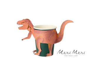 Meri Meri Becher Dino, 8 Stk., 250 ml