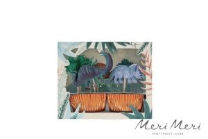 Meri Meri Cupcake Kit Dino, Muffinform + Deko