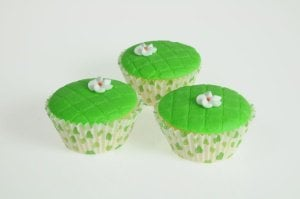 Gitterstanze für Muffins -Blume-, 12,5 x 7,5 cm