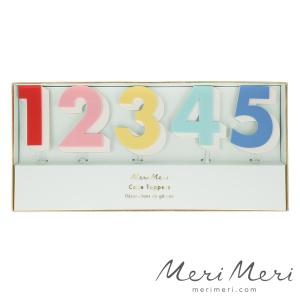 Meri Meri Cake Topper Zahlen, 10 Stk., Höhe ca. 11 cm