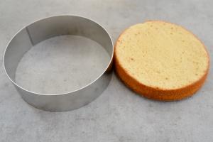 Tortenring Alu, 28 cm Durchmesser, 8 cm hoch