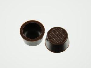 Pralinen-Schalen rund Zartbitter  63 Stück