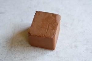 Nuss-Nugat dunkel feinste Qualität, 500 g