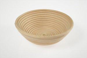 Gärkorb rund aus Peddigrohr für Brote bis 1500 g