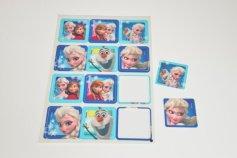 Frozen - Die Eiskönigin, Zucker-Aufleger, 12 Stück