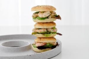 Backset: Bagels mit Topping