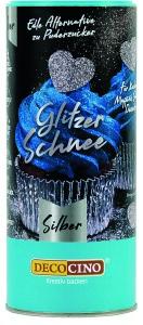 Glitzer Schnee, silber, 100 g