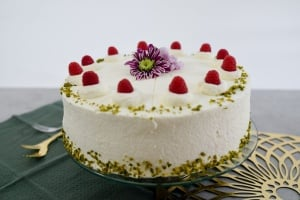 Backset: Himbeersahne - Torte