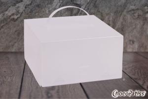 Tortenbox faltbar matt 32x32x15 cm